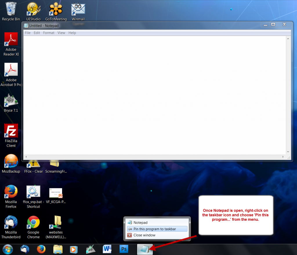 pin-notepad-to-taskbar