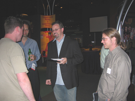 Aaron from Shopping.com, Craig Paddock, Rob Snell and David Burke