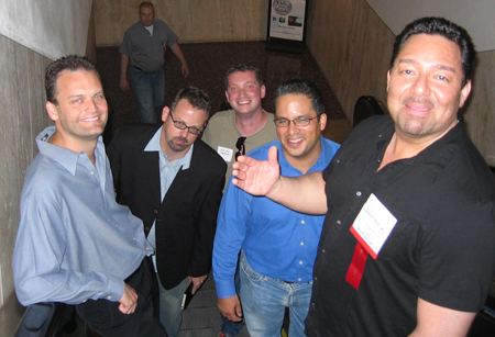 Leaving the Accel Partners Reception