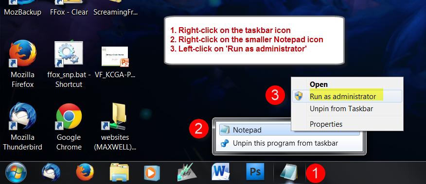 run-notepad-as-admin
